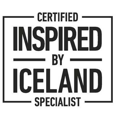 Certified Inspired by Iceland Specialist Logo